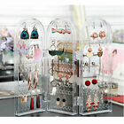 2018 Jewelry Display Rack Clear Acrylic Earrings Necklace St