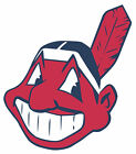 Cleveland Indians Mascot Chief Wahoo Vinyl Decal / Sticker 5 Sizes!!!