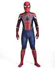 Marvel Iron Spiderman *UPGRADED LENS* 3D Printed Lycra Spandex Cosplay Costume