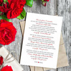 The Beatles Personalized Valentine Card. In my life Lyrics. I love you more.