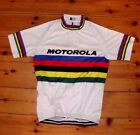 Brand New Team Motorola  world Champion Cycling jersey Lance Armstrong