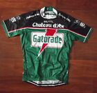 Brand New Team Gatorade Chataux D'ax Moser cycling Jersey