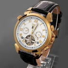 New Mens Fashion Automatic Mechanical Analog Date Display Waterproof Wrist Watch