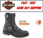 Harley Davidson D95264 Mens Ranger Black Motorcycle Riding Boots $140.18 USD on eBay