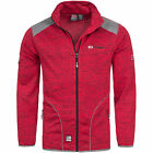 Geographical Norway Fleecejacke Herren/Damen Jacke Strick warm TIMON/TINA S-XXXL