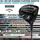 Callaway Rogue Driver Select a Shaft Loft Flex - New 2018