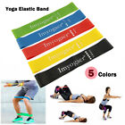 Sport Resistance Bands Loop Exercise Yoga Elastic Workout Band Fitness Training image