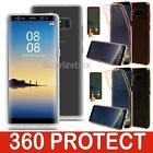 New Shockproof Silicone 360 Hybrid FULL Case Cover For Samsung Galaxy Note 8