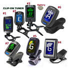 Clip-On Digital LCD Tuner Chromatic Electric Guitar, Bass, &amp; All Instrument <br/> Free Shipping
