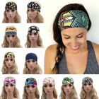 Внешний вид - Women Wide Sports Yoga Headband Stretch Hairband Elastic Hair Band Boho Turban