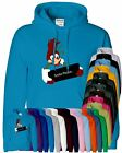 Woodpecker Mens Hoodie Funny Cartoon Inspired Big Head Pull Over Women Hoodie
