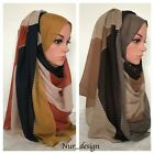 Good Quality Elegant Maxi Viscose & Cotton Blend Soft Scarf 180x100cm