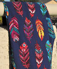 WESTERN INDIAN FEATHER AZTEC TRIBAL LEGGINGS PLUS SIZE TC ONE OS 8 10 12 14 16