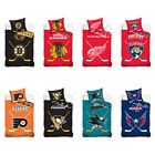 NHL National Hockey League Fan Bed Cover Bed Linen Ice Hockey 140 x 200 CM $46.48 USD on eBay