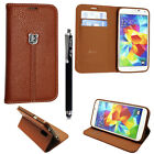 Case Cover For Samsung Galaxy  Magnetic Flip Leather Wallet Card Holder