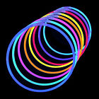 GLOW STICKS Bracelets Necklaces Glow in the Dark Party Festival Concert Favors