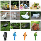 Realistic Artificial Animal Bird Owl Toy Fur Home Furnishing Decoration Statue