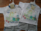 """New Baby Boys """"little dino/cheeky mouse"""" T.Shirt & Shorts Set by Just Too Cute"""