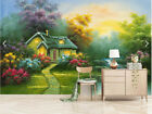 Lively Pulpy Houses 3D Full Wall Mural Photo Wallpaper Printing Home Kids Decor