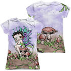 Betty Boop FAIRY 2-Sided Sublimated All Over Print Poly Juniors T-Shirt $36.54 CAD on eBay