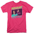 Wham! Band George Michael CARELESS WHISPER Licensed Adult T-Shirt All Sizes