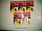 C.P. SWING Spinning Lures - Silver choice of 1/12,1/10,1/8,1/4,3/8 oz