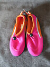 Girl's West Loop Pink/Orange Water Shoes Aqua Shoes Choice S