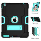 Full Body ShockProof Stand Case Cover for iPad 9.7 2017 Mini 2 3 4 Air 1st Pro 6