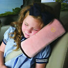 Car Seat Belt Cover Pillow Pad Headrest Seatbelt Pillows Support Kids & Adults