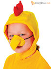 Animal Hood & Nose Set Childs Easter Farmyard Fancy Dress Accessories Book Day