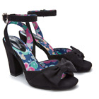 Joe Browns Women's My Secret Love Black Ankle Strap High Heel Shoe