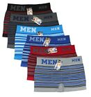 Lot 3-6 Pack Men Microfiber Boxer Briefs Underwear Seamless Compression Sport