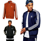 New Men's Adidas Original Superstar Tracksuit Jacket Track Top Stripes Size S-XL