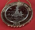 2015 The First World War Navy Ship 1914-1918 £2 Two Pound Coin Low Mint 650,000