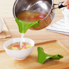 Silicone Gel Foldable Collapsible Style Funnel Hopper Kitchen Cozinha Cooking