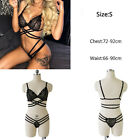 New Sexy Women's Lingerie Hollow Cage Harness Bra Tops Push Up Bralette Bustier