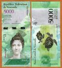 100 Notes Packet / Bundle - VENEZUELA  5,000 BOLIVARES - GEM  UNC BANKNOTE