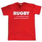 Rugby, A Hooligans Game, Mens Funny T Shirt - League Union Gift for Him Dad