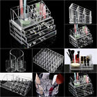 Clear Makeup Case Cosmetic Drawers Jewelry storage Acrylic Cabinet Box Organizer