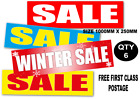 Horizontal  Sale posters and signs  6 posters you choose FREE FIRST CLASS