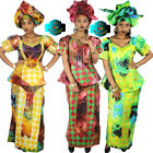 African Dresses For Women Design Bazin Riche Embroidery African Fashion Clothes