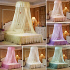 Elegant Round Dome Lace Princess Bed Mosquito Netting Mesh Canopy Bedding Net image