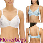 Naturana Minimiser Printed Soft Cup Bra - 5363- Non Wired Soft Cup Bra BNWT