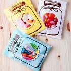 100x Bottle Design Cellophane Candy Biscuit Wedding Party Seal Bags New