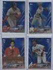 2018 Topps OPENING DAY * BLUE FOIL Parallel * Complete Your Set You Pick Card
