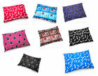NEW LARGE DOG BED WITH REMOVABLE ZIPPED COVER WASHABLE PET CUSHION Complete Bed