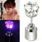 1 PC Light Up LED Bling Ear Stud Earrings Accessories for Dance Xmas Party