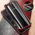 For Huawei Honor 9 P8 P9 P10 Lite 2017 Luxury Plating Clear Soft TPU Case Cover