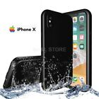 COVER per Iphone X IMPERMEABILE SUBACQUEA Waterproof SABBIA NEVE ACQUA MARE