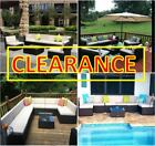 CLEARANCE Set Patio Sofa & Table Dining Outdoor Furniture Sectional seat 3 5 14